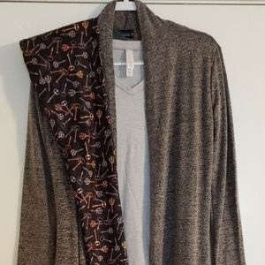 Steampunk LLR XS Top & CP Duster, Keys Leggings